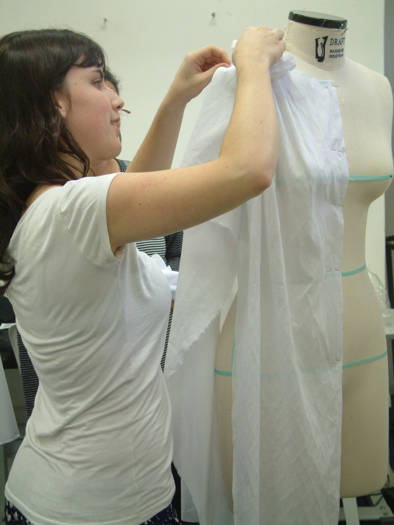 Draping training