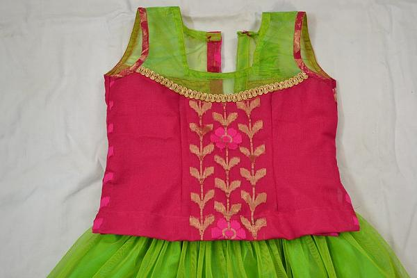 Kids Lehenga Choli sewing