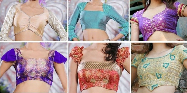 DIFFERENT TYPE OF CUT BLOUSE