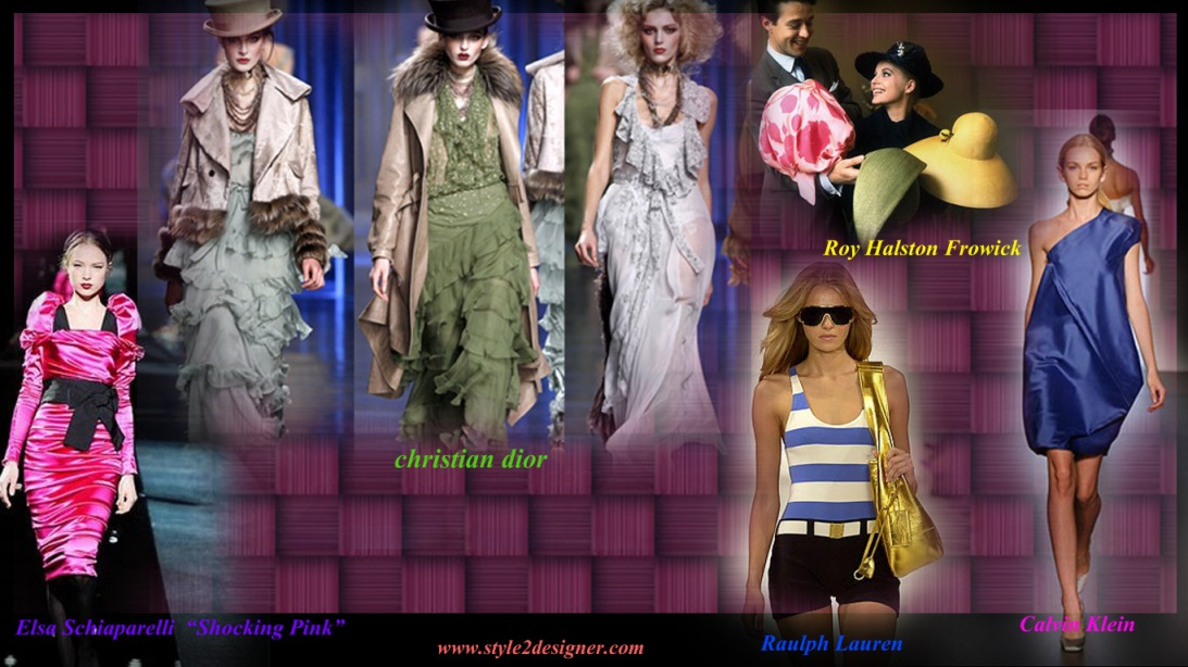 Top Fashion Designers In The World Style2designer Com