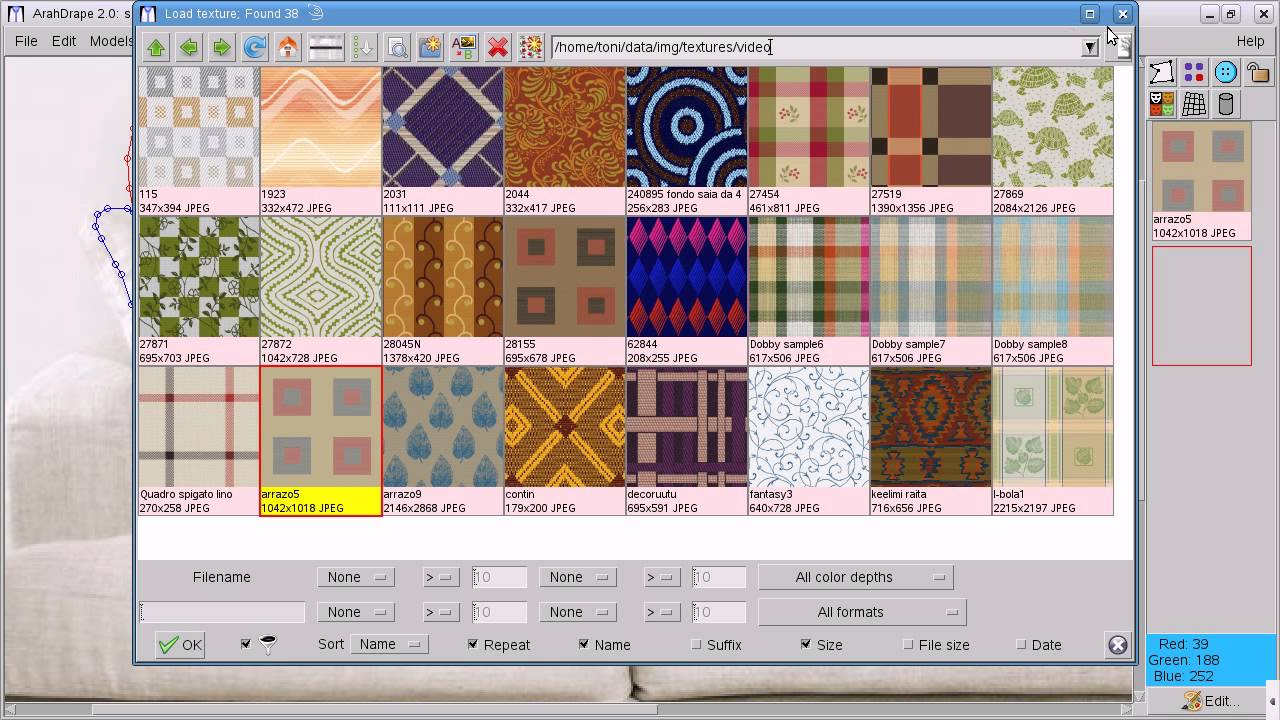 Arahne Print And Drape Software In Textile Style2designer