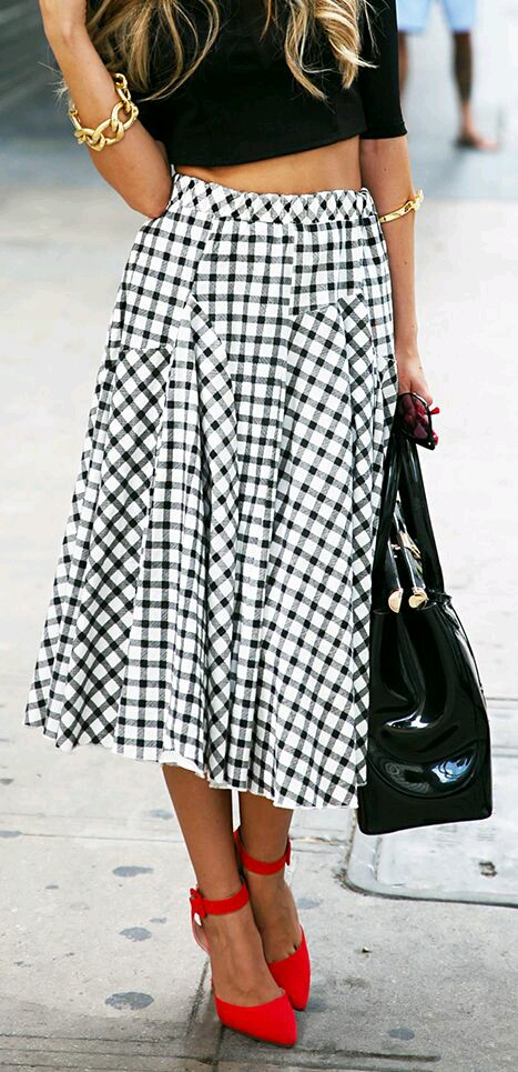BONA FIDE STYLES TO WEAR GINGHAM! 1