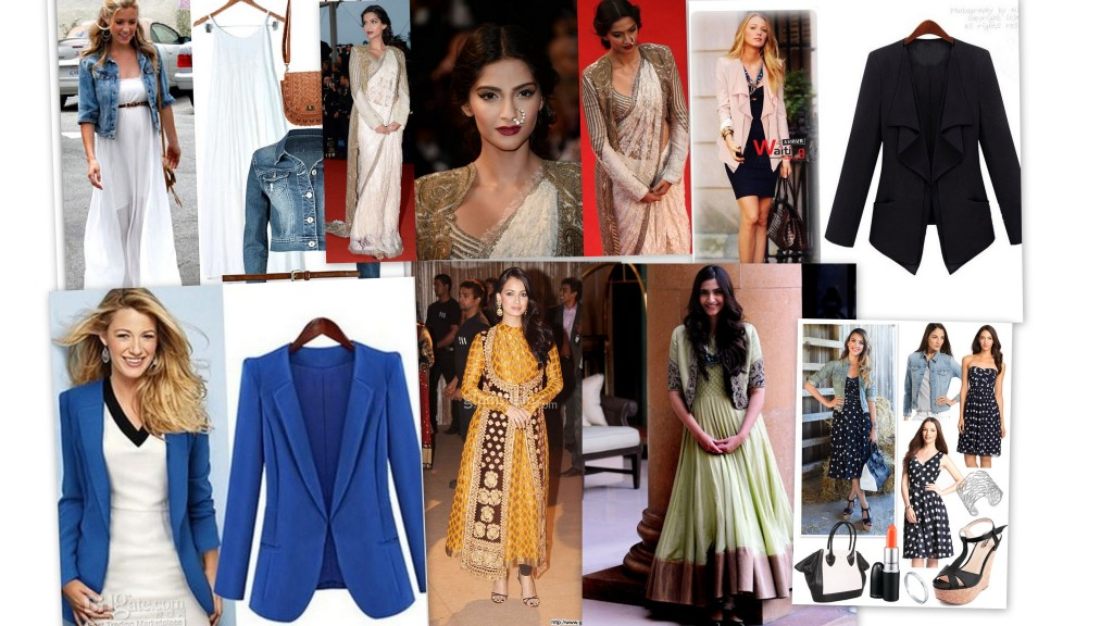 celebrities flaunting jackets in different styles
