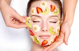 fruit gel mask