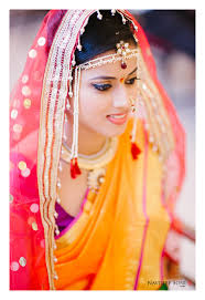 A Marathi wedding bridal costume- reflects tradition 1