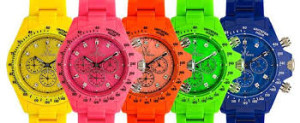 neon watches