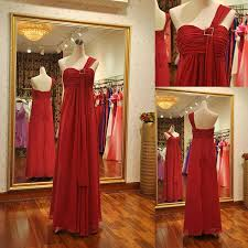 romantic red gown