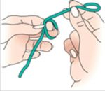 slip knot making