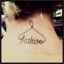 tattoo in hanger