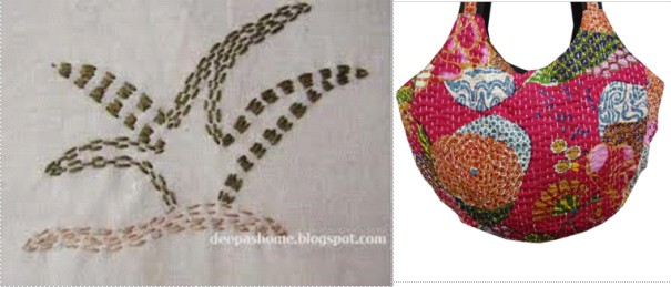 KANTHA EMBROIDERY